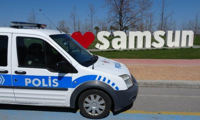 Korona artışı nedeniyle Samsun'a polis desteği yapıldı