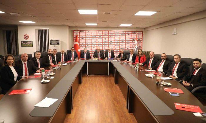 Samsunspor Kulübü Derneği ilk toplantısını yaptı