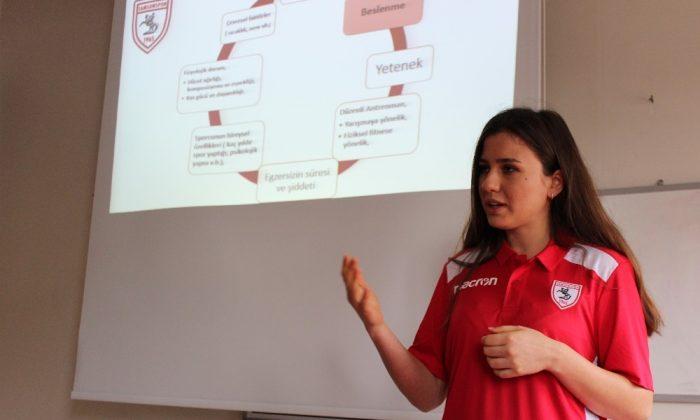 Samsunspor'da geleceğin yıldız adaylarına 'Beslenme' eğitimleri