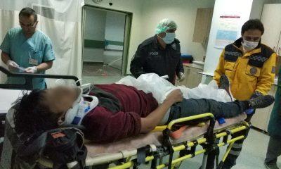 Şantiye binasından düşen çocuk ağır yaralandı