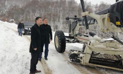 Sinop'ta 45 köy yolu ulaşıma açıldı