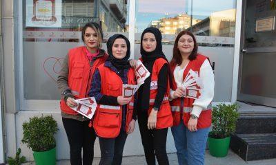 Sinop'ta öğrenciler kan bağışında öncü oluyor