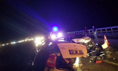 Sinop'ta trafik kazası: 4 ölü, 6 yaralı