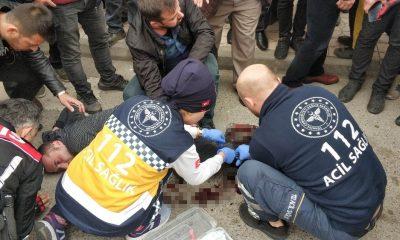 Sokak ortasında 'bakışma' yüzünden silahlı saldırı: 1 yaralı