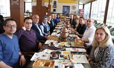 Tekkeköy Belediyesi sağlık çalışanlarını unutmadı