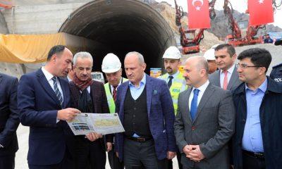 Ulaştırma ve Altyapı Bakanı Turhan Amasya'da