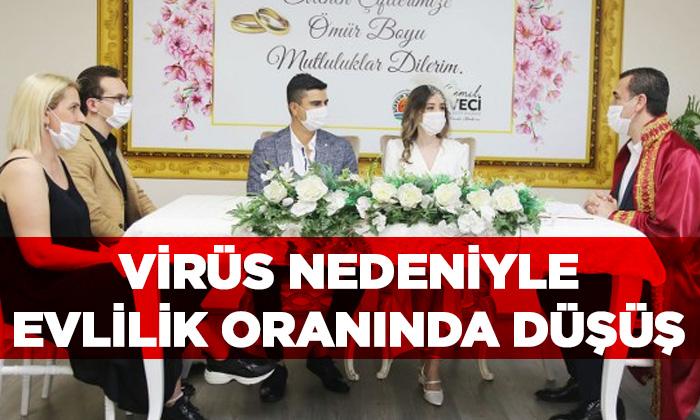 Pandemi Sürecinde Evlilik Oranları Düştü