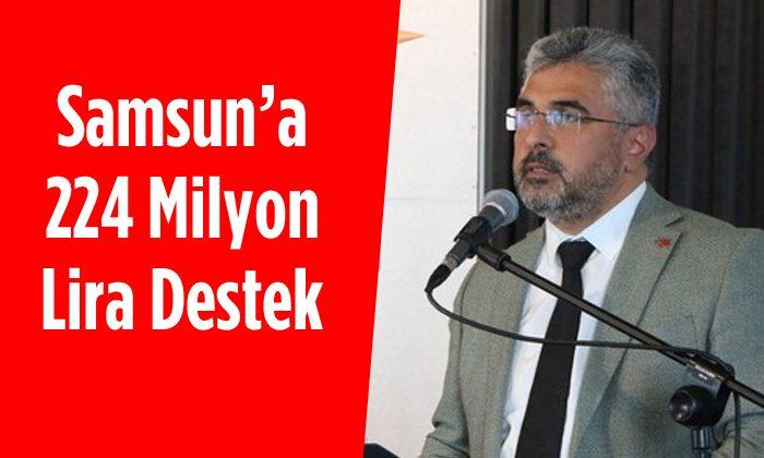 Samsun'da İhtiyaç Sahiplerine 223 Milyon Destek Verildi