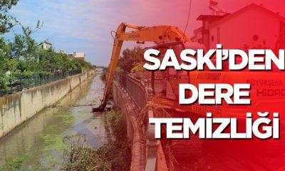 Samsun'da Dere Temizliği Yapılıyor