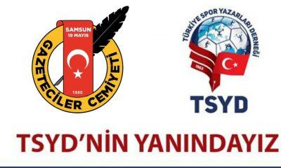 TSYD'nin Her Zaman Yanındayız