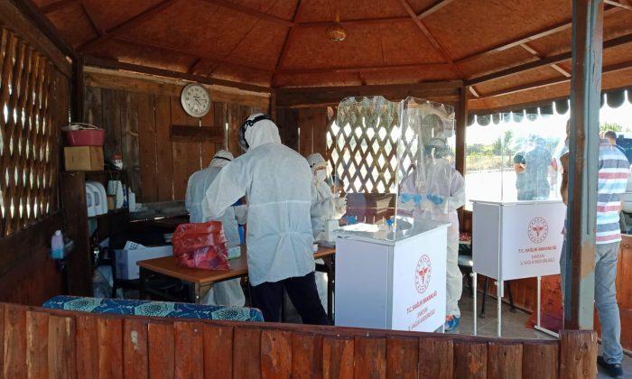 Karantina'da Olanlar Sağlık Ekiplerince Kontrol Ediliyor