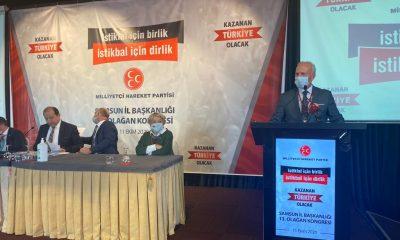 MHP Samsun İl Başkanı Abdullah KARAPIÇAK 13. Olağan kongrede İl Başkanı seçildi.