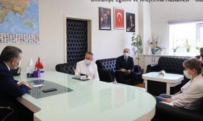 Son dakika haberi: Sağlık Bakanı Koca, Ümraniye Eğitim Araştırma Hastanesi'ni ziyaret etti