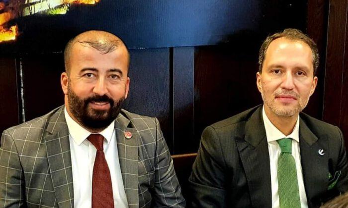 Yeniden Refah Partisi Samsun İl Başkanı  Salih ŞAHİN
