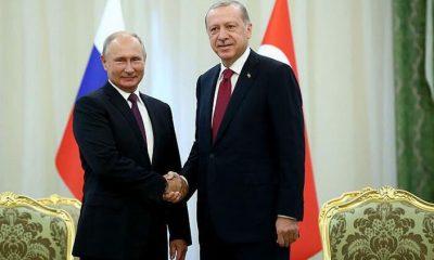 Son dakika haberi… Cumhurbaşkanı Erdoğan ve Putin'den kritik görüşme