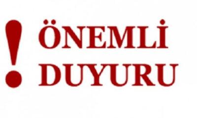 ACİL DUYURU